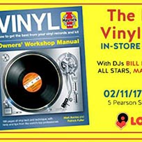 Haynes Vinyl Manual In-Store Launch Party at Love Vinyl on Thursday 2nd November 2017