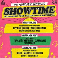 Showtime - Four Decades of UK Dancehall at Jazz Cafe on Friday 7th June 2019