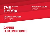 The Hydra at Ministry of Sound on Sunday 26th November 2017