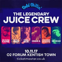 Juice Crew at The Forum on Friday 10th November 2017