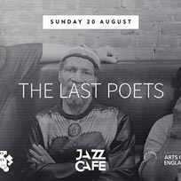 The Last Poets at Jazz Cafe on Sunday 20th August 2017