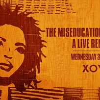 The Miseducation Anniversary at XOYO on Wednesday 30th January 2019
