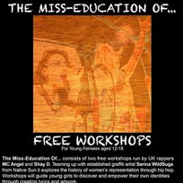 The Miss Education of… at The Grayston Centre on Saturday 6th August 2016