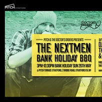 The Nextmen Bank Holiday BBQ at PITCH Stratford on Sunday 26th May 2019