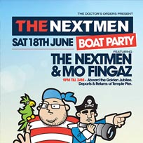 The Nextmen Boat Party at Golden Jubilee on Saturday 18th June 2016