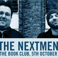 The Nextmen at Book Club on Saturday 5th October 2019