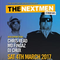 The Nextmen at Hoxton Square Bar & Kitchen on Saturday 4th March 2017