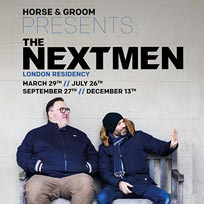 The Nextmen at Horse & Groom on Friday 26th July 2019