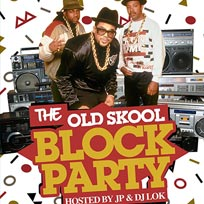 The Old School Block Party at Notting Hill Arts Club on Friday 29th July 2016