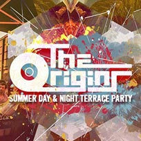 The Origins Summer Day & Night Terrace Party at TBA on Saturday 2nd July 2016