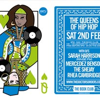 The Queens of Hip-Hop at Book Club on Saturday 2nd February 2019
