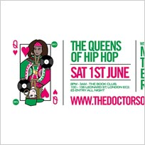 Queens of Hip Hop at Book Club on Saturday 1st June 2019