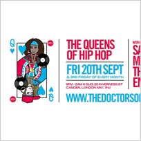 The Queens of Hip-Hop at DUO on Friday 20th September 2019