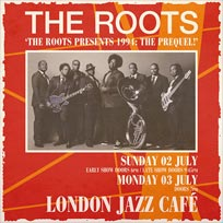The Roots at Jazz Cafe on Monday 3rd July 2017