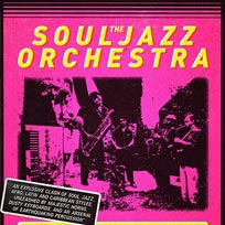 Souljazz Orchestra at Rich Mix on Thursday 5th October 2017