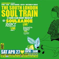 The South London Soul Train at CLF Art Cafe on Saturday 27th April 2019