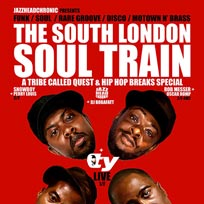 The South London Soul Train at Bussey Building on Saturday 6th January 2018