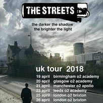 The Streets at Brixton Academy on Wednesday 25th April 2018