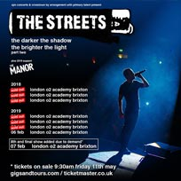 The Streets at Brixton Academy on Thursday 7th February 2019