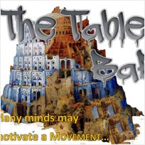 The Table of Babel at TONE on Tuesday 30th August 2016