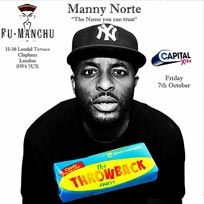 The Throwback Party at Fu Manchu on Friday 7th October 2016