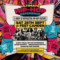 The Ultimate Hip-Hop Experience at FEST Camden on Saturday 28th September 2019