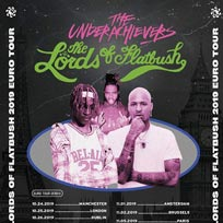 The Underachievers at The Garage on Friday 25th October 2019