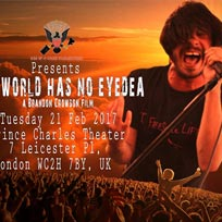 The World Has No Eyedea UK Premiere at Prince Charles Cinema on Tuesday 21st February 2017