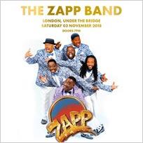 The Zapp Band at Under the Bridge on Saturday 3rd November 2018