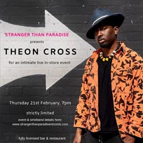 Theon Cross at Stranger Than Paradise Records on Thursday 21st February 2019