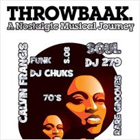 Throwbaak Party at 100 Club on Saturday 25th June 2016