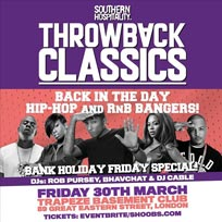 Throwback Classics at Trapeze on Friday 30th March 2018