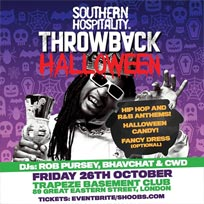 Throwback Halloween at Trapeze on Friday 26th October 2018