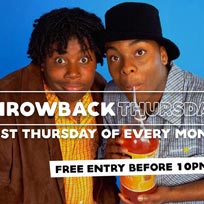 Throwback Thursdays at Concrete on Thursday 2nd March 2017