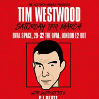 Tim Westwood at Oval Space on Saturday 17th March 2018