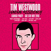 Tim Westwood at Hoxton Square Bar & Kitchen on Saturday 10th June 2017