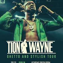 Tion Wayne at Brixton Academy on Saturday 12th October 2019