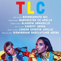 TLC at Hammersmith Apollo on Monday 13th November 2017
