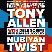 Tony Allen at Electric Brixton on Friday 29th November 2019