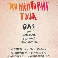 Too High To Riot Tour at Islington Academy on Monday 14th November 2016