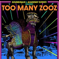 Too Many Zooz at The Forum on Friday 17th May 2019