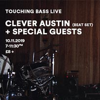 Touching Bass Live at Unit 31 on Sunday 10th November 2019