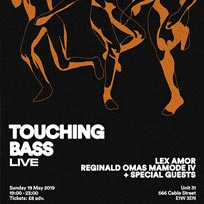Touching Bass Live at Unit 31 on Sunday 19th May 2019
