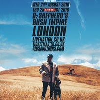 Travis Scott at Shepherd's Bush Empire on Wednesday 24th August 2016