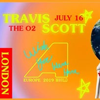 Travis Scott at The o2 on Tuesday 16th July 2019