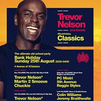 Trevor Nelson at Ministry of Sound on Sunday 5th May 2019