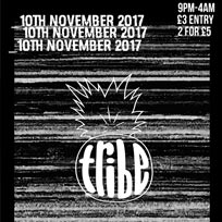 TRIBE London at The Moustache Bar on Friday 10th November 2017