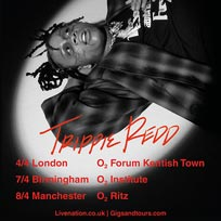 Trippie Redd at The Forum on Saturday 4th April 2020