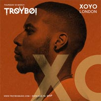 Troyboi at XOYO on Thursday 30th March 2017