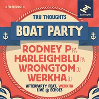 Tru Thoughts Boat Party at Temple Pier on Saturday 13th August 2016